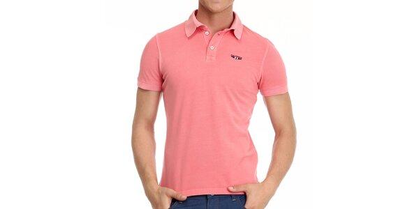 Pánské korálové polo tričko Galvanni