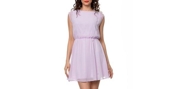 Dámské světle fialové šaty Dia Vynne
