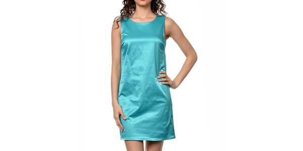 Dámské tyrkysové šaty bez rukávů Dia Vynne