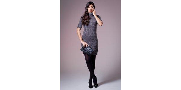 Dámské šedé pletené šaty Ada Gatti