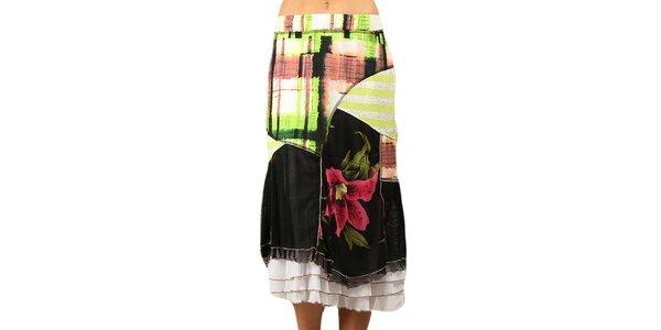Dámská sukně s volánky Squise