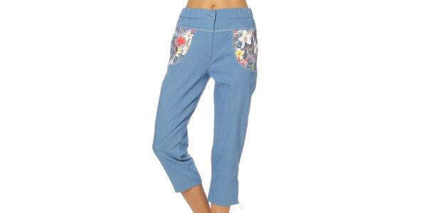 Dámské světle modré kalhoty Squise