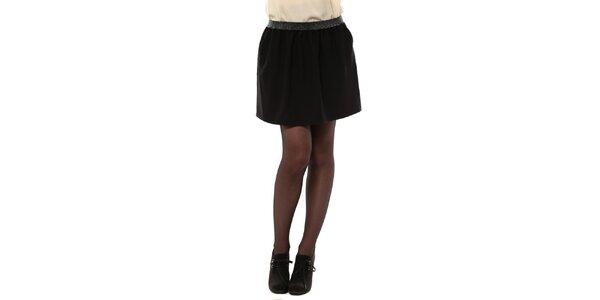 Dámská černá sukně do pasu My Little Poesy