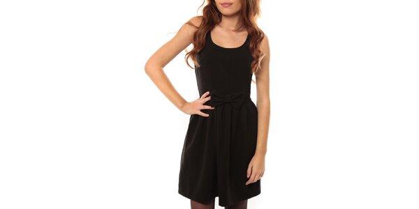 Dámské černé šaty s odhalenými zády My Little Poesy