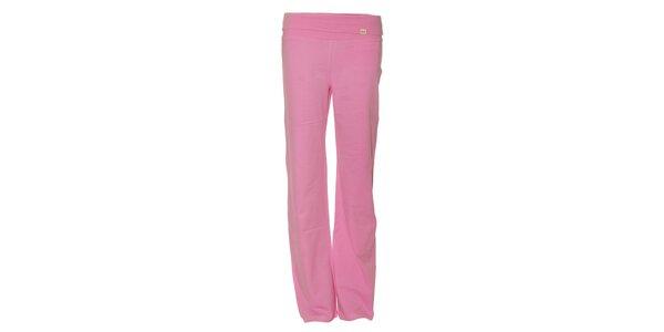 Dámské tepláky YU Feelwear ve světle růžové barvě
