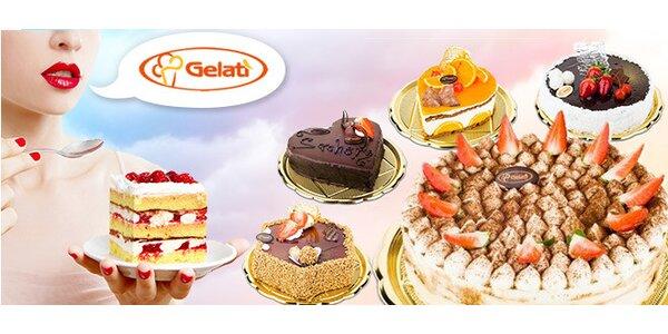 Jakékoli dorty z Gelati s chutnou letní slevou