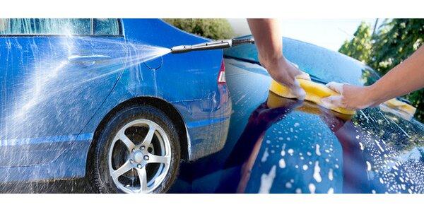 Ruční mytí vozu - 3 programy na výběr