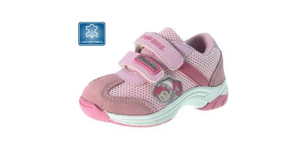 Dětské růžové tenisky s obrázkem Beppi