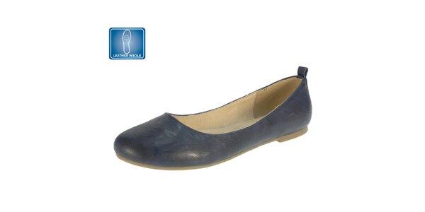 Dámské tmavě modré balerínky Beppi