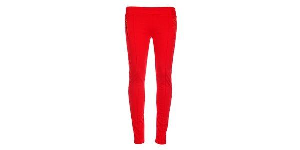 Dámské červené kalhoty Holly Kate