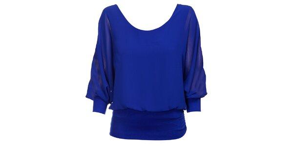 Dámský zářivě modrý top Holly Kate