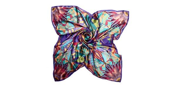 Dámský fialový šátek Giancarlo Bassi