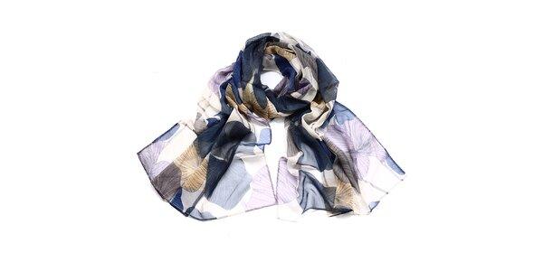 Dámský barevný hedvábný šátek Giancarlo Bassi