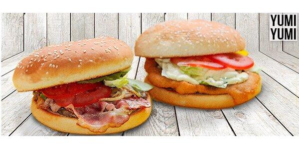 Sleva 40 % na burgery a wrapy z bistra YUMI YUMI