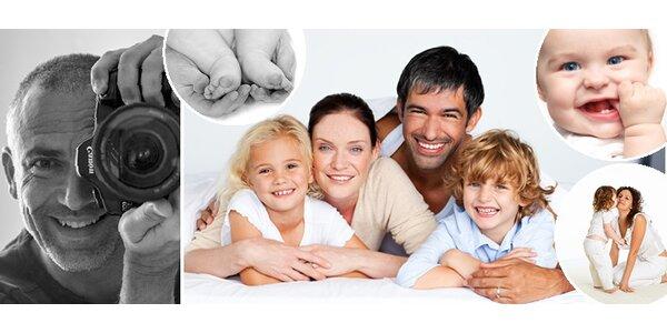 Dětské a rodinné fotografování