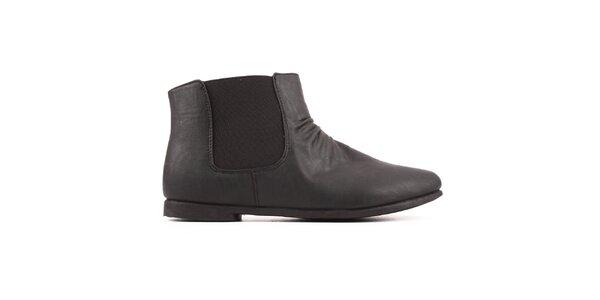 Dámské kotníčkové chelsea boty Spot on