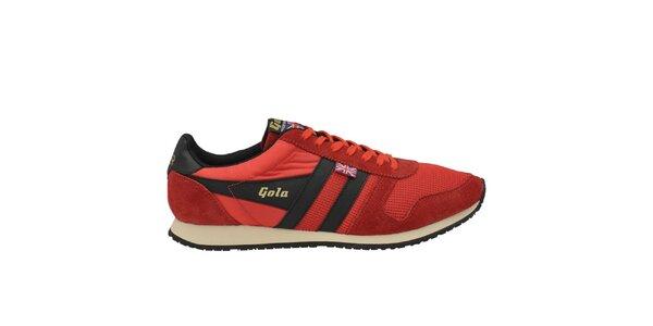 Pánské červené tenisky Gola