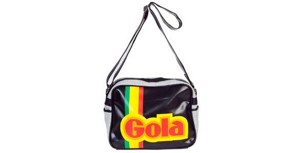 Retro taška s nápisem Gola