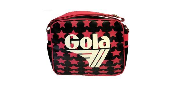 Retro taška s hvězdami Gola