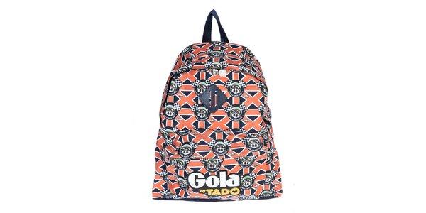 Pestrobarevný batoh Gola