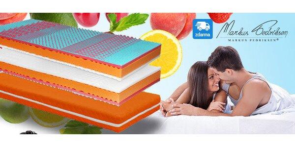 Středně tuhá matrace Fruity Medium