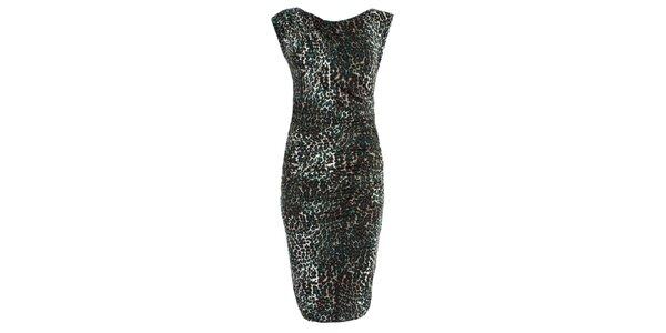 Dámské šaty s leopardím potiskem JDC London
