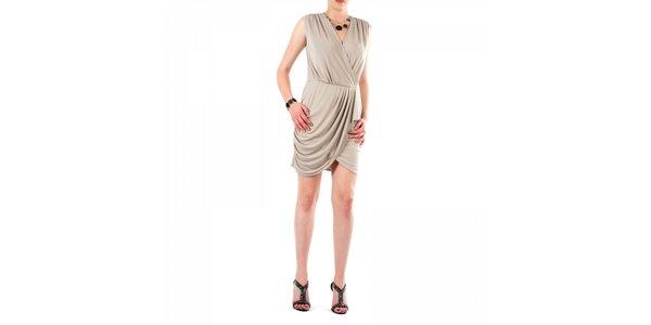Dámské béžové šaty Fifilles de Paris