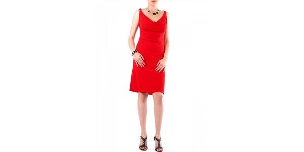 Dámské červené šaty Fifilles se Paris