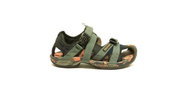 Pánské army trekové sandály Numero Uno
