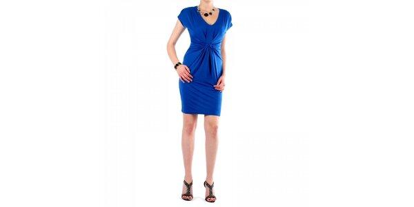 Dámské zářivě modré šaty Fifilles se Paris