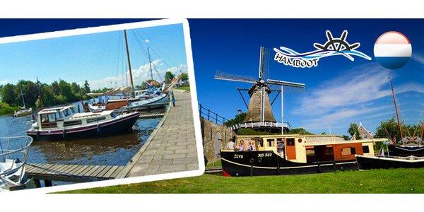 Týdenní pronájem hausbotu v Holandsku
