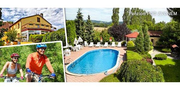 Dovolená u Klatov pro dva s polopenzí i bazénem