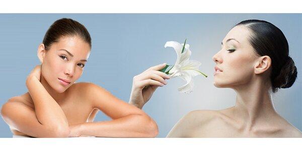Liftingová masáž obličeje včetně fotonové LED terapie s použitím 100% čistého…