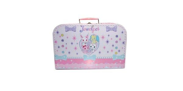 Dětský kufřík 35cm Jewel Pet