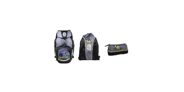 SET GORMITI 3-5 třída (Školní batoh+Sportovní vak+Pouzdro)