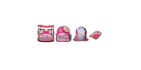 SET MISS PRINCESS 1-2 třída (Školní aktovka+Dětský batoh+Sportovní vak+Penál)