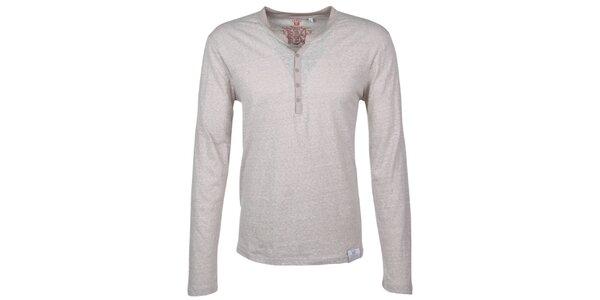 Pánské šedobílé tričko Urban Surface