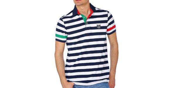 Pánské námořnické polo triko M. Conte