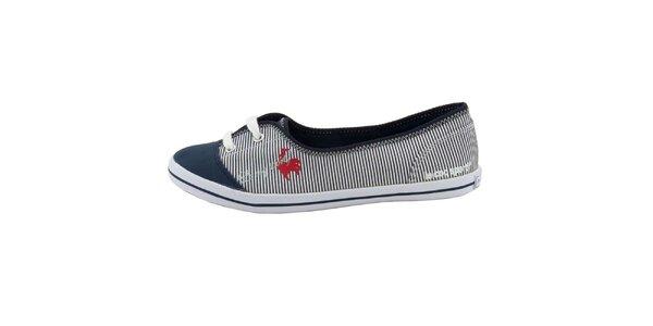 Dámské pruhované boty Le Coq Sportif
