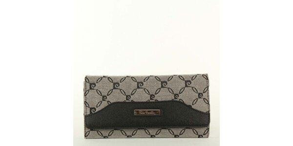 Dámská šedo-černá peněženka Pierre Cardin