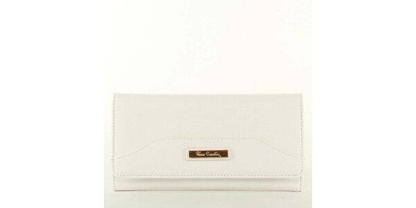 Dámská bílá peněženka s plíškem Pierre Cardin