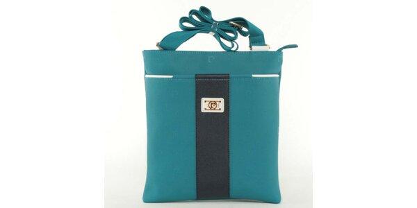 Dámská modrá kabelka Pierre Cardin