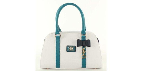 Dámská bílá kabelka s mašličkou Pierre Cardin