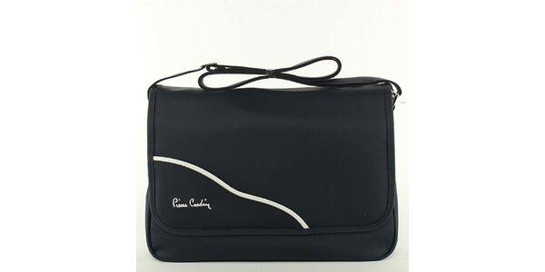 Dámská černá kabelka přes rameno Pierre Cardin