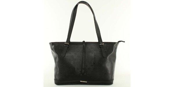 Dámská černá kabelka s nastavitelnými poutky Pierre Cardin