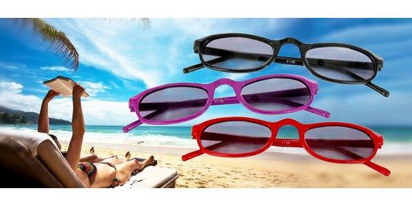 Dioptrické sluneční brýle na čtení