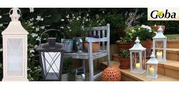 Kovové lucerny pro váš útulný domov