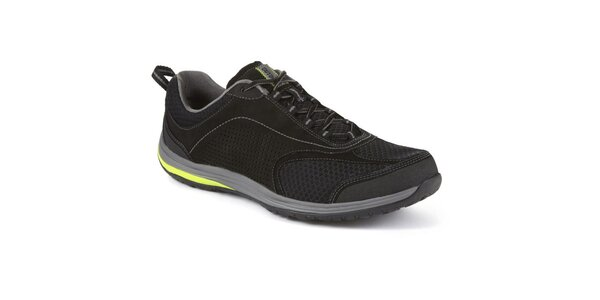 Pánské černé sportovní boty Clarks
