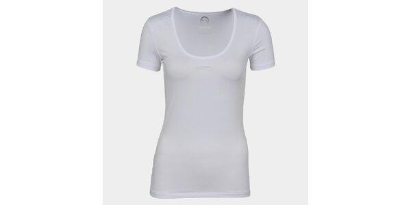 Dámské bílé tričko se značkou Sweep