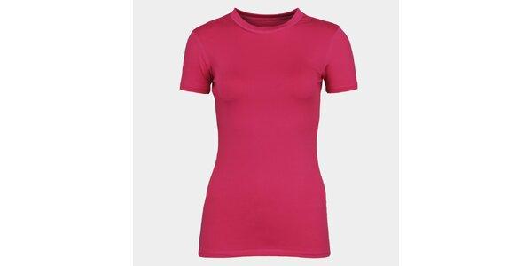 Dámské růžové tričko s krátkým rukávem Sweep